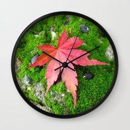 Leaf Zen Wall Clock