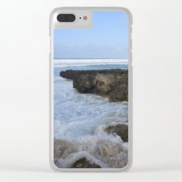 Tumbling Water Clear iPhone Case