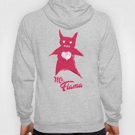 Mr. FLAMA Outline version Hoody