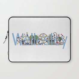 Wellesley College by Stephanie Hessler '84 Laptop Sleeve
