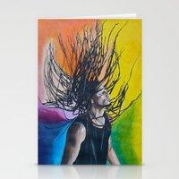 reggae Stationery Cards featuring Reggae by Halinka H