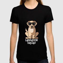 Dog Mom Dog Dad Love-r Funny Labrador Retriver Squad T-shirt