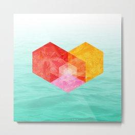Heart of the sea Metal Print