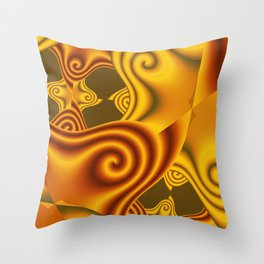 colors everywhere -4- Throw Pillow
