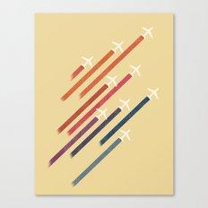 Aerial display (ver.2) Canvas Print