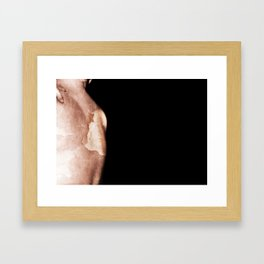 As Fragile as Paper. Framed Art Print