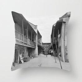 New Orleans, Louisiana, 1937-1938 Throw Pillow