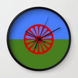 gypsy flag Wall Clock