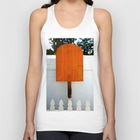 popsicle Tank Tops featuring Popsicle  by Photaugraffiti