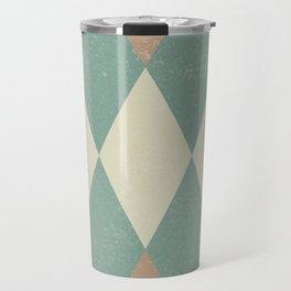 Large Argyle Travel Mug
