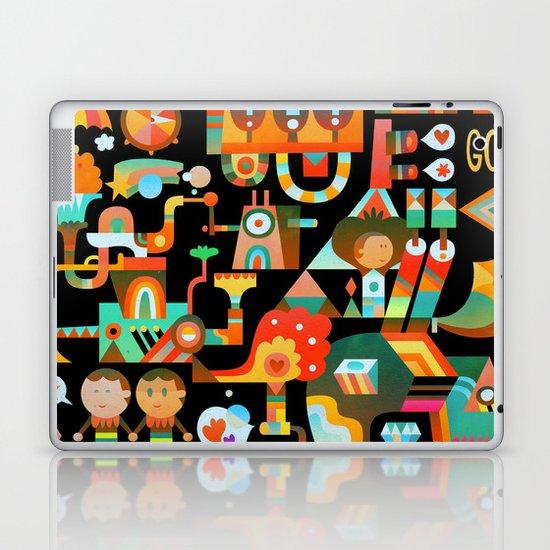 The Chipper Widget (Remix) Laptop & iPad Skin
