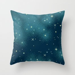 Northern Skies IV Throw Pillow