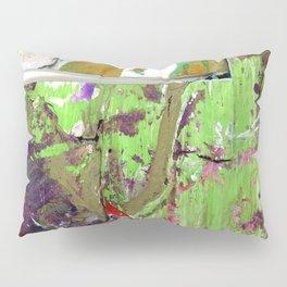 Green, Gold and Purple Boundaries Pillow Sham