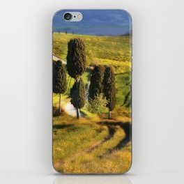 Postards from Italy - Toscany iPhone Skin