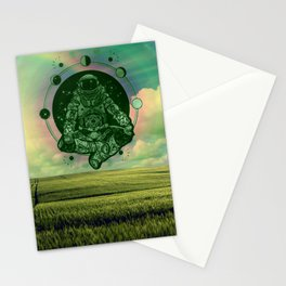 Astronaut float Stationery Cards