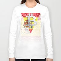 spain Long Sleeve T-shirts featuring bitcoin spain by seb mcnulty