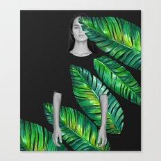 LeafGurl Canvas Print