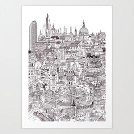 London Cityscape Kunstdrucke