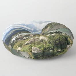 Mirror Lake Floor Pillow