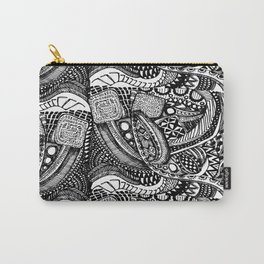 Anti-Matter Pattern Carry-All Pouch