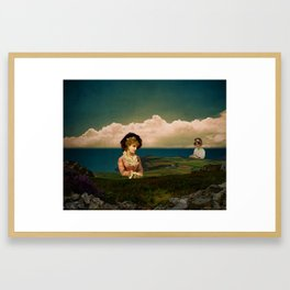 A Place For Lonely Girls Looking For Love Framed Art Print