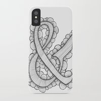 ampersand iPhone & iPod Cases featuring Ampersand by Laura Maxwell