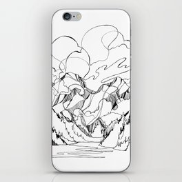 Powell River and the Peaks Beyond iPhone Skin