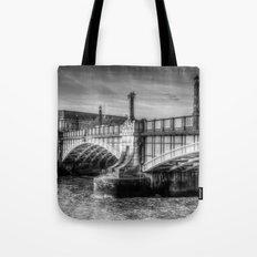Lambeth Bridge London Tote Bag