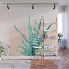 Desert Succulent Aloe Vera Wall Mural