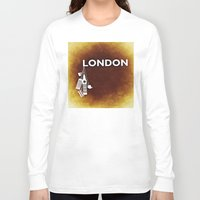 england Long Sleeve T-shirts featuring London, England  by Limitless Design