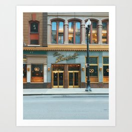 The Berghoff Art Print