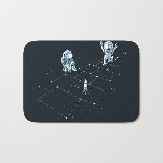 Hopscotch Astronauts Bath Mat