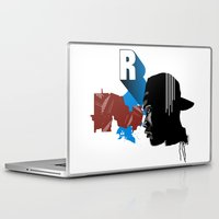 rap Laptop & iPad Skins featuring Rap by David Navascues