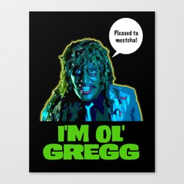 Old Gregg Canvas Print