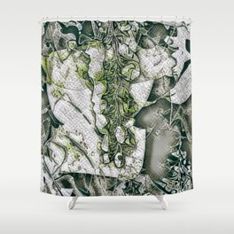 A Tint of Spring Colour. Shower Curtain