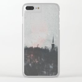 Hilltop Steeple Clear iPhone Case