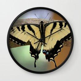 Le Papillon - Papilio Glaucus Wall Clock