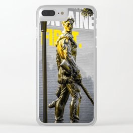 West Virginia Mountaineers Go First Clear iPhone Case