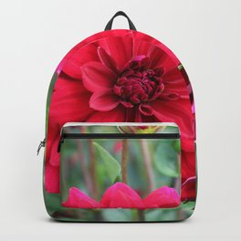 Blooming Red Backpack