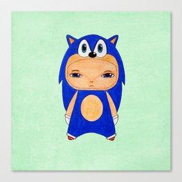 A Boy - Sonic the Hedgehog Canvas Print