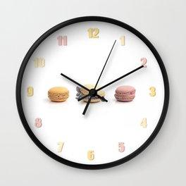 Cute Turtle Macaron Wall Clock