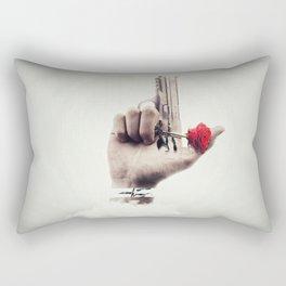Clouded Judgement Rectangular Pillow