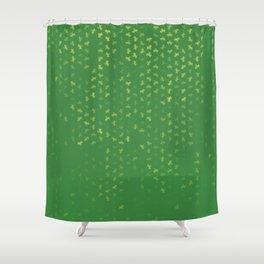capricorn zodiac sign pattern gr Shower Curtain