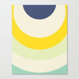 Cacho Shapes X Canvas Print