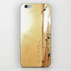 Beach ambience iPhone & iPod Skin