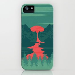 The Red River iPhone Case