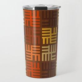 African pattern Travel Mug