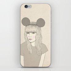 Mouse Girl iPhone & iPod Skin