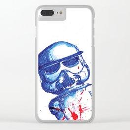 Trooper Clear iPhone Case