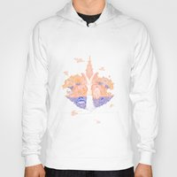 paradise Hoodies featuring Paradise by Andrew Henry